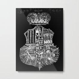 Sedlec V Metal Print