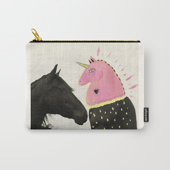 goodbye horses Carry-All Pouch