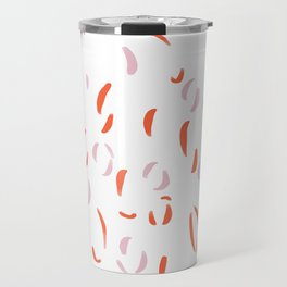 Abstract Petals Travel Mug