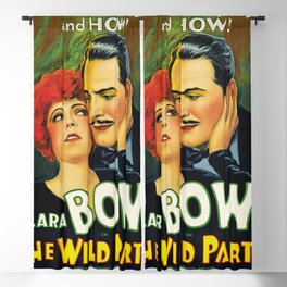 Classic Movie Poster - The Wild Party Blackout Curtain