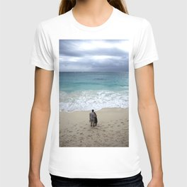 The blue sea T-shirt