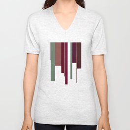 Abstract #3 Unisex V-Neck