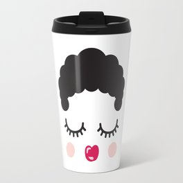 Cute Face Travel Mug