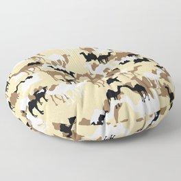 CAMELFLAGE - Desert Storm Sand Floor Pillow