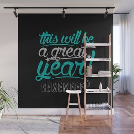 Great Year Wall Mural