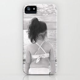 Facing Immensity iPhone Case