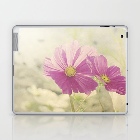 Vintage Cosmos in the Sun Laptop & iPad Skin