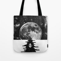 journey Tote Bags featuring Endless Journey by Zach Terrell