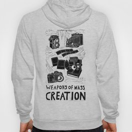 Weapons Of Mass Creation - Photography (blk on brown) Hoody