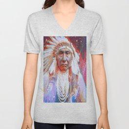 Crazy Horse Unisex V-Neck
