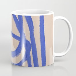 A blue eternal labyrinth Coffee Mug