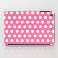 minnie mouse iPad Cases featuring Minnie Mouse Dots | Pink by DisPrints