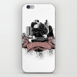 Poligonal Music iPhone Skin