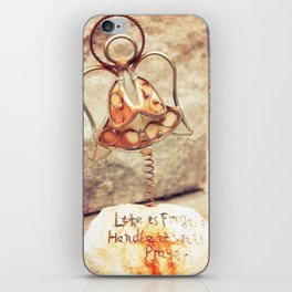 Signs: Handle With Prayer iPhone Skin