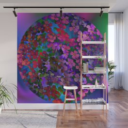 Flower Ball Wall Mural