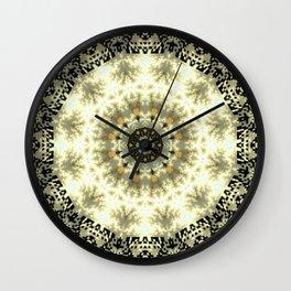 Oriental QR Code Mandala Wall Clock