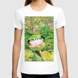 Singapore Water Lilies T-shirt