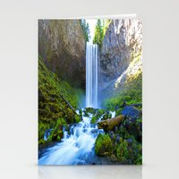 waterfall Stationery Cards featuring Waterfall by 2sweet4words Designs