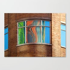 Rainbow Window Canvas Print