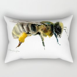 Bee, bee design honey bee, honey making Rectangular Pillow