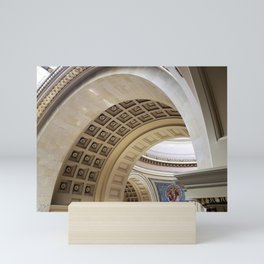 Wisconsin Capitol Building Arches And Angles Mini Art Print