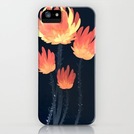Fire Blossoms 03 iPhone Case
