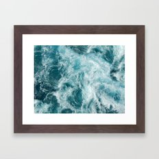 Bali Waves Framed Art Print