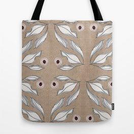 Sketch Leaves Tote Bag
