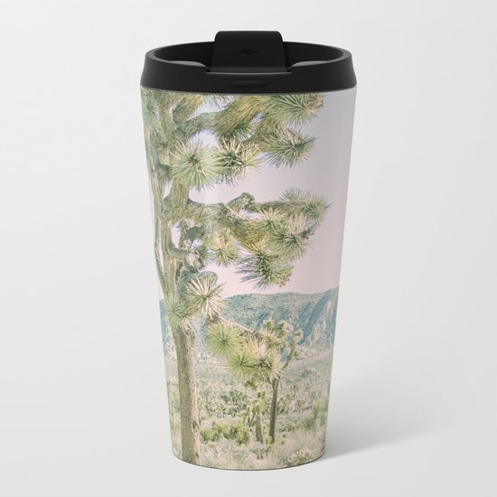 Joshua Tree Ombre Metal Travel Mug