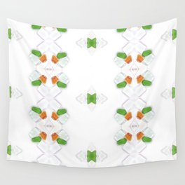 Sea Glass 15 Wall Tapestry