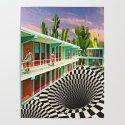 Time Warp Motel by linzsepe