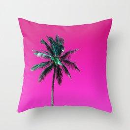 Palm Tree PR Throw Pillow