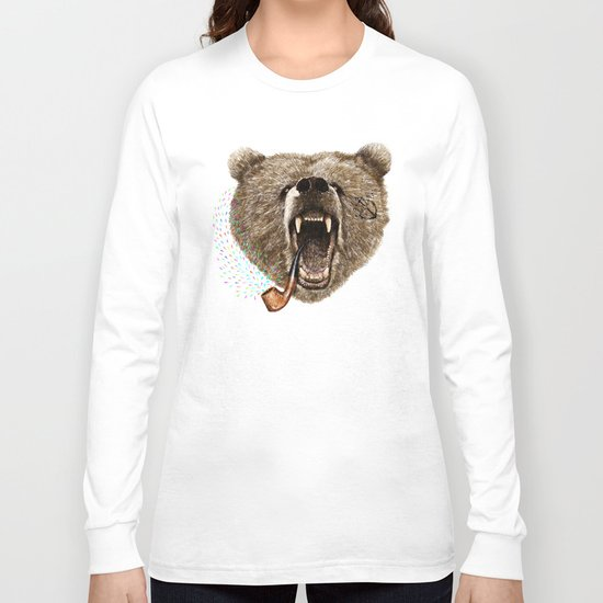 Angry Bear Long Sleeve T-shirt