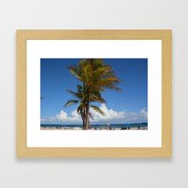 Fort Lauderdale Framed Art Print