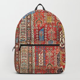 Shirvan Caucasian Antique Carpet Backpack