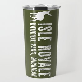 Isle Royale Deer Travel Mug