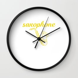 It's a Saxophone Thing, You Wouldn't Understand T-shirt Wall Clock