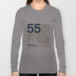 Denmark stamp  Long Sleeve T-shirt