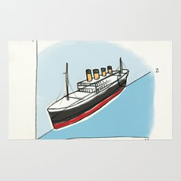 Titantic in the 3rd dimension | By: Melissa Medwyk Rug