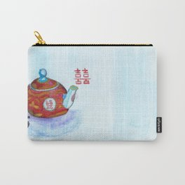 Chinese Teapot Carry-All Pouch