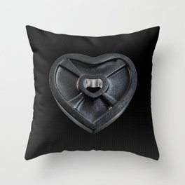 Lift With Your Heart Throw Pillow