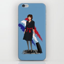 Come fly with me, let's fly, let's fly away - France iPhone Skin