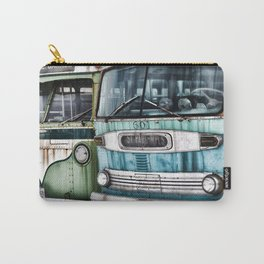 Old Buses Carry-All Pouch