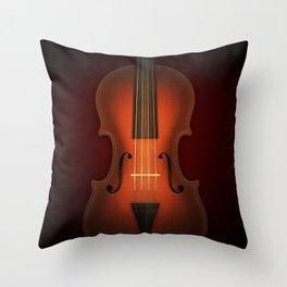 Straordinarius Stradivarius Throw Pillow