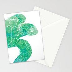 Sea Turtle II Stationery Cards