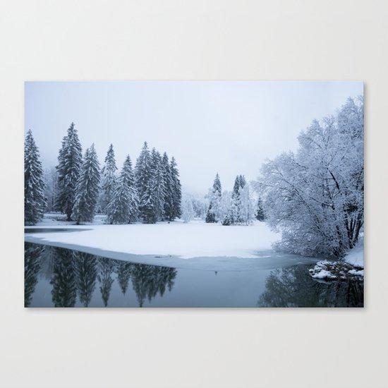 Silently Canvas Print