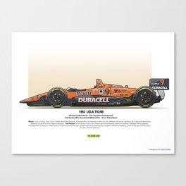#9 LOLA - 1993 - T9300 - Boesel Canvas Print