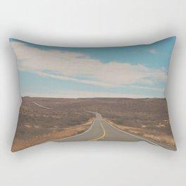 Road Trip photograph, Open Landscape Rectangular Pillow