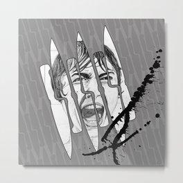 Knife Party Metal Print