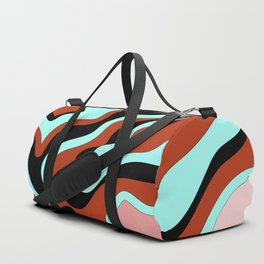 Beautiful Journey - Rust Turquoise Duffle Bag